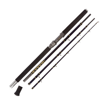 10207 4pce Deep Blue Travel Boat Rod