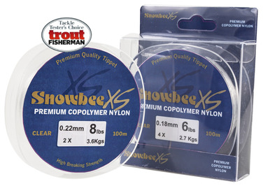 Snowbee XS Copolymer Nylon - Clear