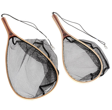 15071 & 15072 Wooden Frame Hand Trout Nets