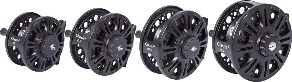 Classic2 fly reel family