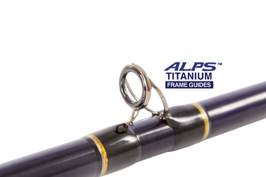 ALPS 100% Titanium Rod Guides with Zirconium ring liners