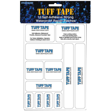 SST-TT12 Stormsure Tuff-Tape Kit - 12 patches